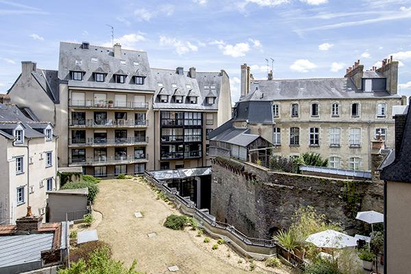 Hôtel à Rennes, près de la gare mais pas trop