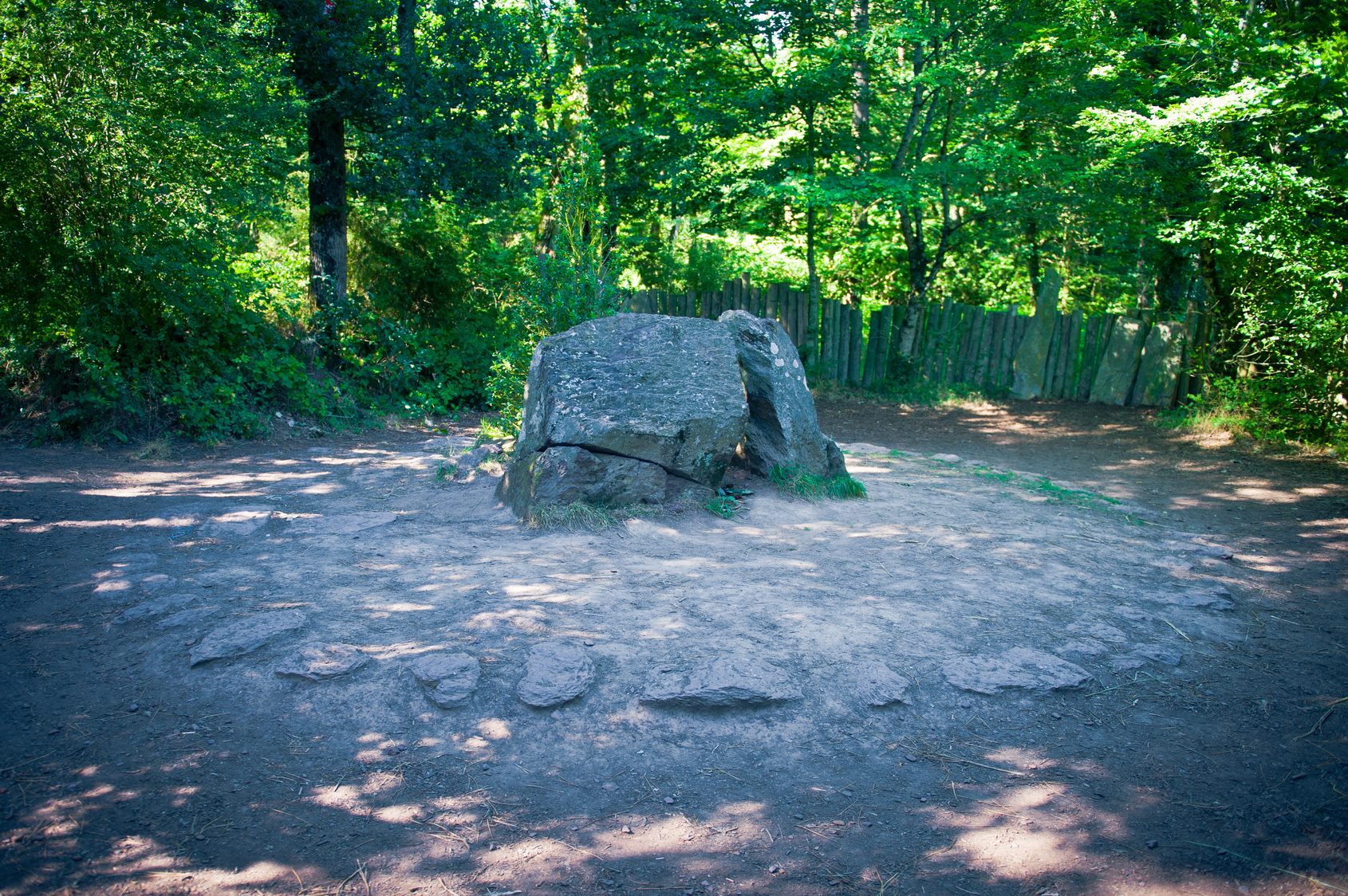 Tombe de Merlin - forêt de Paimpont