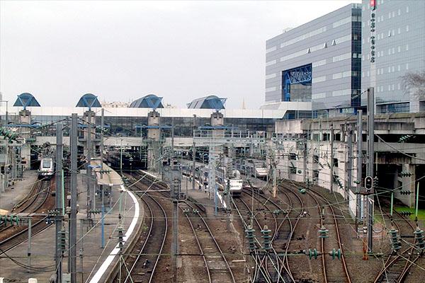 La gare de Rennes en travaux
