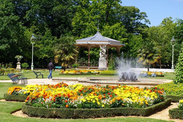 Le parc du Thabor - Rennes