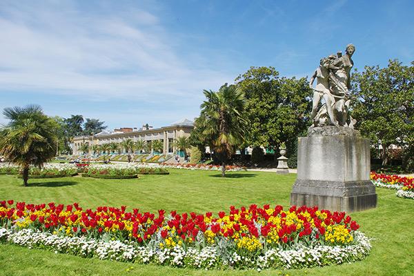 Découvrez le Parc du Thabor lors de votre séjour dans un hôtel au centre de Rennes