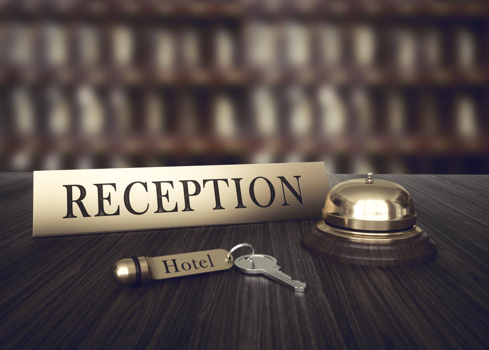 Accueil de l'hôtel